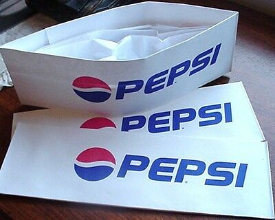 24 ~ Pepsi Cola Soda Jerk Paper Hats Party Planner Ice Cream Social  2 DOZEN