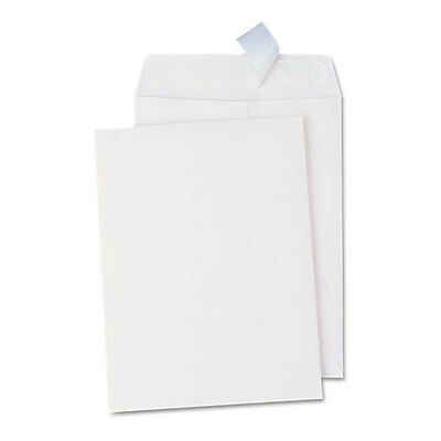 Universal Pull & Seal Catalog Envelope, 10 x 13, White, 100/Box, BX - UNV40101