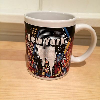 Times Square New York City NYC Ceramic Coffee Tea Mug Souvenir