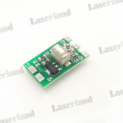 0-800mA Oclare 700mw Orange Red Laser Diode LD Driver Power Supply 3v-4.5v