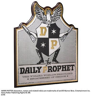 Harry Potter Daily Prophet Wooden Wall Sign