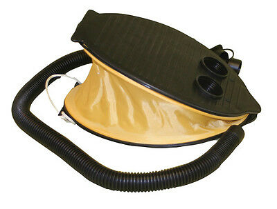 Quest 3L Large Foot Pump Air Camp Bed Dinghy Lilo Inflator Portable Lightweight
