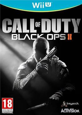 Call Of Duty Black Ops II 2 for Wii U brand new sealed PAL game