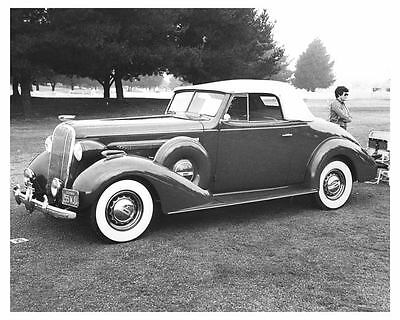 1936 Buick Century Convertible Coupe Automobile Photo Poster zch6500