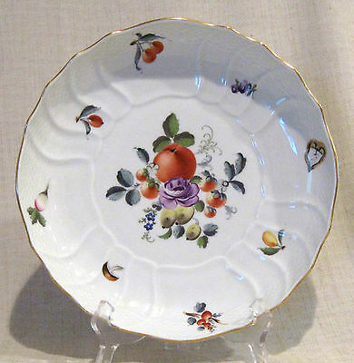 Herend Fruit & Flowers Round Vegetable Serving Bowl