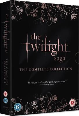 The Twilight Saga - The Complete Collection DVD box set New Sealed
