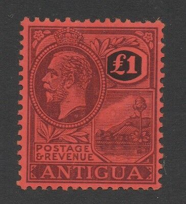 Antigua. SG61. £1 purple/black. Very fine unmounted mint. FREEPOST!