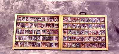 Table Top Card Display Case / Trade Show Case / 1/2 / Full Portable Table Top 1
