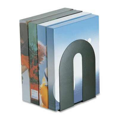 Officemate Steel Construction Heavy-Duty Bookends, Black - OIC93142