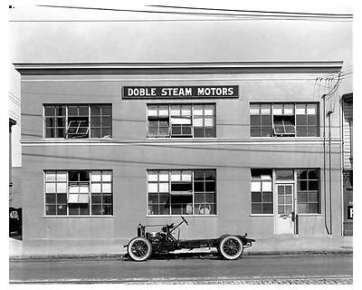 1922 1925 ? Doble Steam Car Chassis at Emeryville CA Factory Photo ca1916