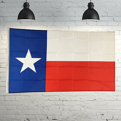 3' x 5' Polyester TEXAS STATE FLAG Lone Star TX USA Grommets Red White Blue New