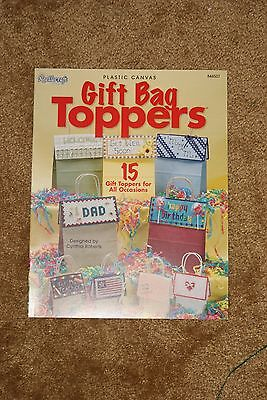 Wholesale Lot: Plastic Canvas: Gift Bag Toppers-Case of 144-Ret.$862.56-Free S&H