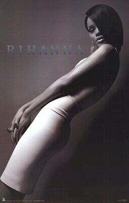 RIHANNA POSTER ~ LEANING CURVES 22x34 Music Pop Pinup