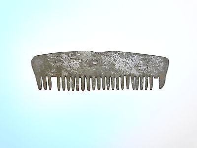 Viking Bronze silvered comb. ca1100 - 1300AD