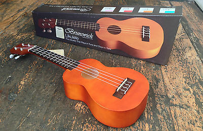 Brunswick Natural Soprano Ukulele Fitted With Aquila Strings RRP £49.99