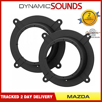 CT25MZ03 Speaker Adaptor Rings Pods Panel Kit For (Mazda 6 2013 Onwards), (CX-5)