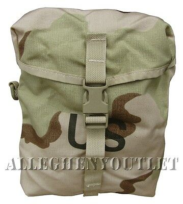 MOLLE II Desert 3Color Sustainment Pouches for Rifleman's Rucksack Back Pack NEW