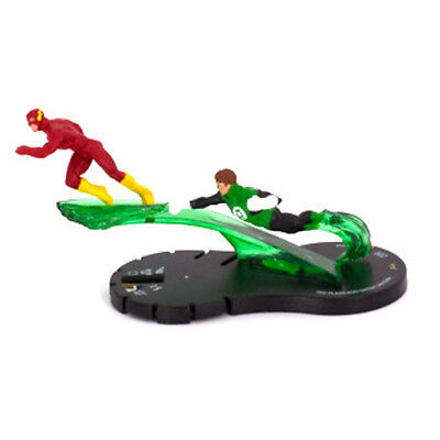 Hero-Clix DC Brave and the Bold Flash and Green Lantern - 048 Mini w/ Card