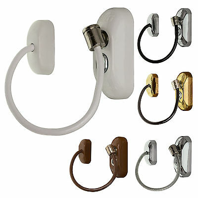 Window & Door Restrictor Key Locking Safety Cable Child Safe Security Wire