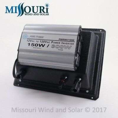 Solar DC to AC Power Using NO Batteries!! for Camping, RV, Pond Pumps, Off Grid