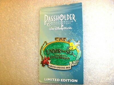 WDW - Grand Opening Under the Sea: Journey of the Little Mermaid, Ariel, Limited