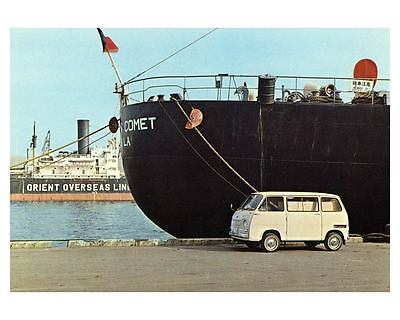 1970 Subaru 360 Van Factory Photo Japanese ca1952