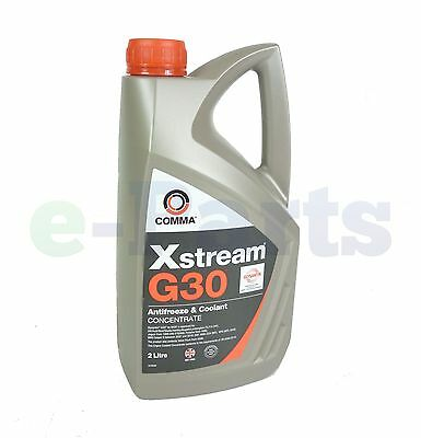 Comma Xstream G30 Antifreeze Coolant Concentrate 2 Litre [Makes 5 Litres] [ep2]