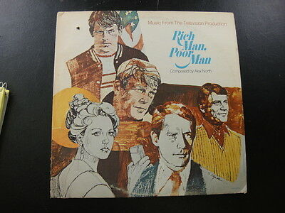 Rich Man Poor Man Music From the Television Production MCA2095 NM LP Record
