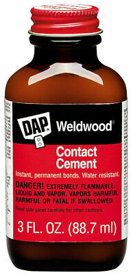 Dap 00107 Weldwood 3oz Bottle of Contact Cement