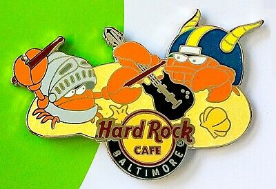 2014 Hard Rock Baltimore Army/navy Football/knight & Goat Crabs   Pin