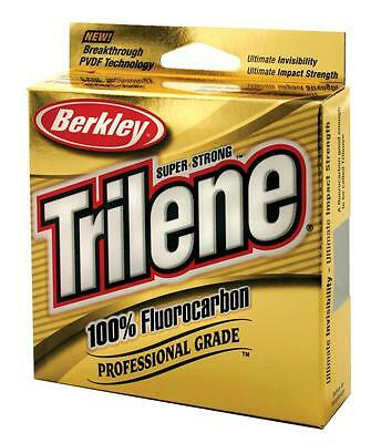 BERKLEY TRILENE FLUOROCARBON FISHING LINE 200YD BIG SPOOL 4lb-12lb *BEST VALUE*