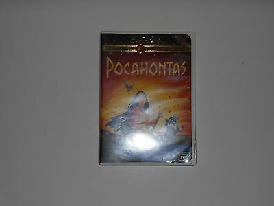 WALT DISNEY'S Pocahontas Gold Collection 1st ISSUE DVD RELEASE MOVIE 2000 OOP