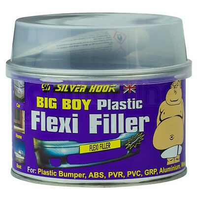 Plastic Flexible Bumper Repair Car Body Filler With Hardener & Applicator 250ml