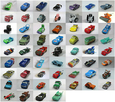 100% Original Disney Pixar Cars 1 / 2 Diecast Metal Car Toy New Loose