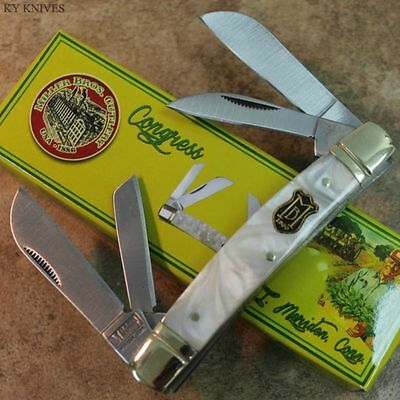 "Vintage Re-Issue Miller Bros. Cutlery 3 1/2"" CONGRESS Pocket Knife MBS-118CI zix"