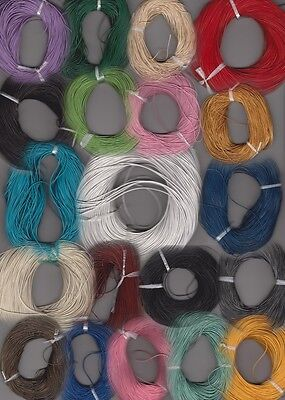 1mm Round Leather Thonging **Free postage for multiple purchases**