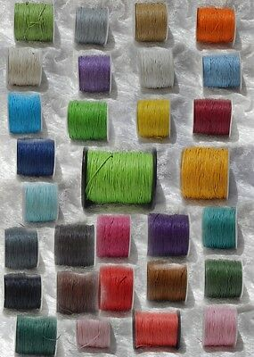 1mm Waxed Cotton Cord **Free postage for multiple purchases**