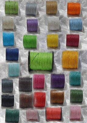 1mm Waxed Cotton/Shamballa Cord **Free postage for multiple purchases**