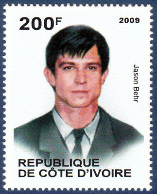 Jason Behr Famous People MNH stamp
