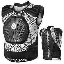 NEW SIXSIXONE 661 WIRED Core Saver Vest Chest Protector White/Black youth kids