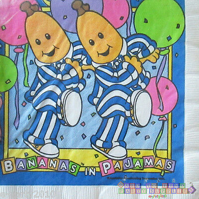 BANANAS IN PAJAMAS FOIL MYLAR BALLOON ~ Birthday Party Supplies Decorations Amy