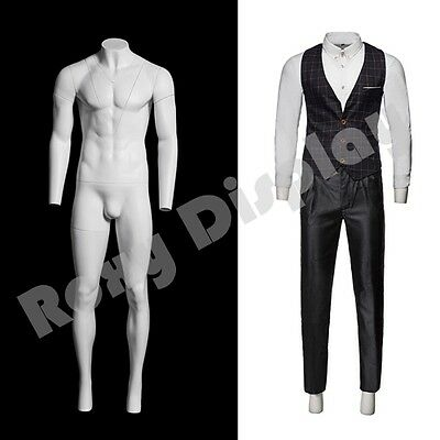 Fiberglass Male Invisible Ghost Mannequin Dress Form Display #MZ-GH3-S