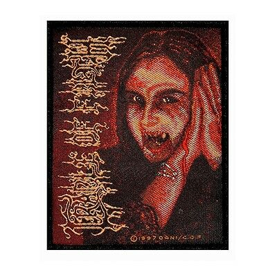 """""""Cradle of Filth"""" Lead Singer Lord Dani the Vampire Metal Sew On Applique Patch"""