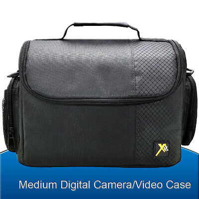 Camera Bag Case for Canon EOS Rebel DSLR T3i T3 T4i T5 T5i 70D 60D 50D - Medium