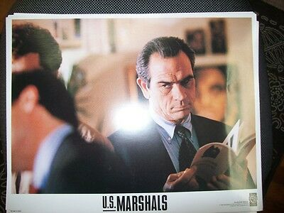 LOBBY CARDS - U.S. MARSHALS - Wesley Snipes - COMPLETE 8 PHOTOS - USA