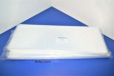 200 CLEAR 20 x 24 POLY BAGS 1 MIL PLASTIC FLAT OPEN TOP