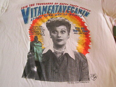 lucy VINTAGE TEE SHIRT LARGE I LOVE LUCY
