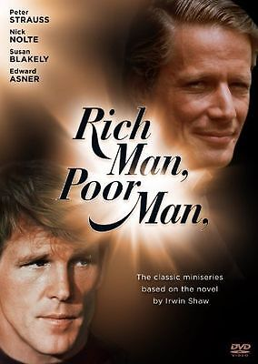 Rich Man, Poor Man: The Complete Collection (DVD, 2010, 9-Disc Set) REGION 1 NEW