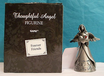 GANZ Thoughtful Angel Figurine Forever Friends - New in Box