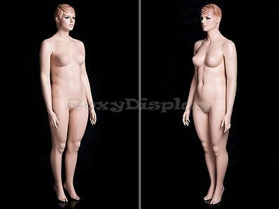 Plus Size Fiberglass Female Display Mannequin Manequin Dummy Dress Form #AVIS1